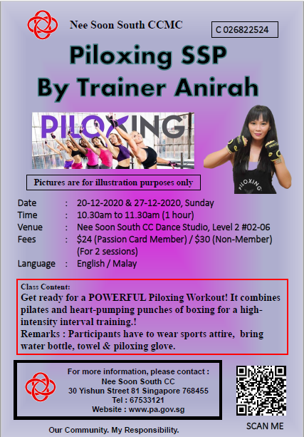 Piloxing SSP by Trainer Anirah