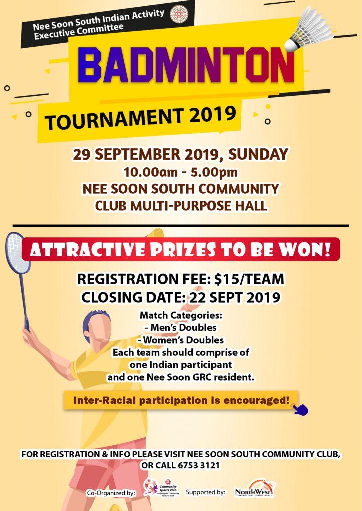Badminton Tournament 2019