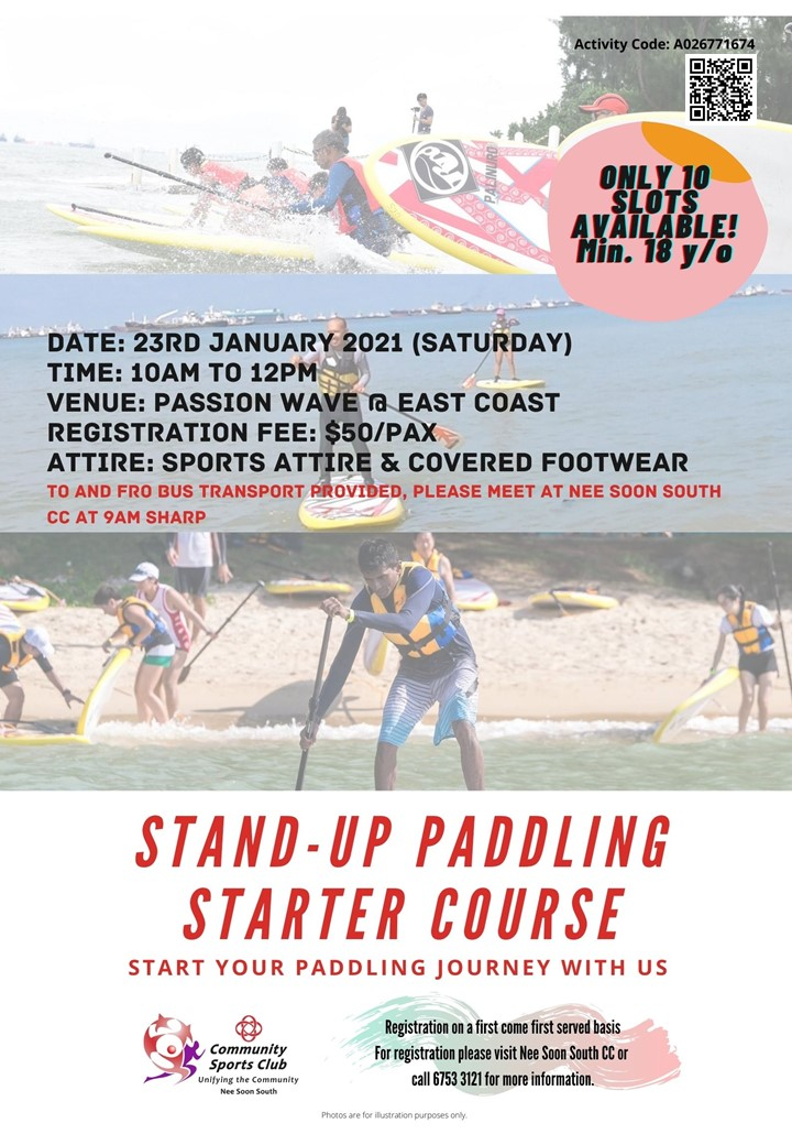 Stand-Up Paddling Starter Course