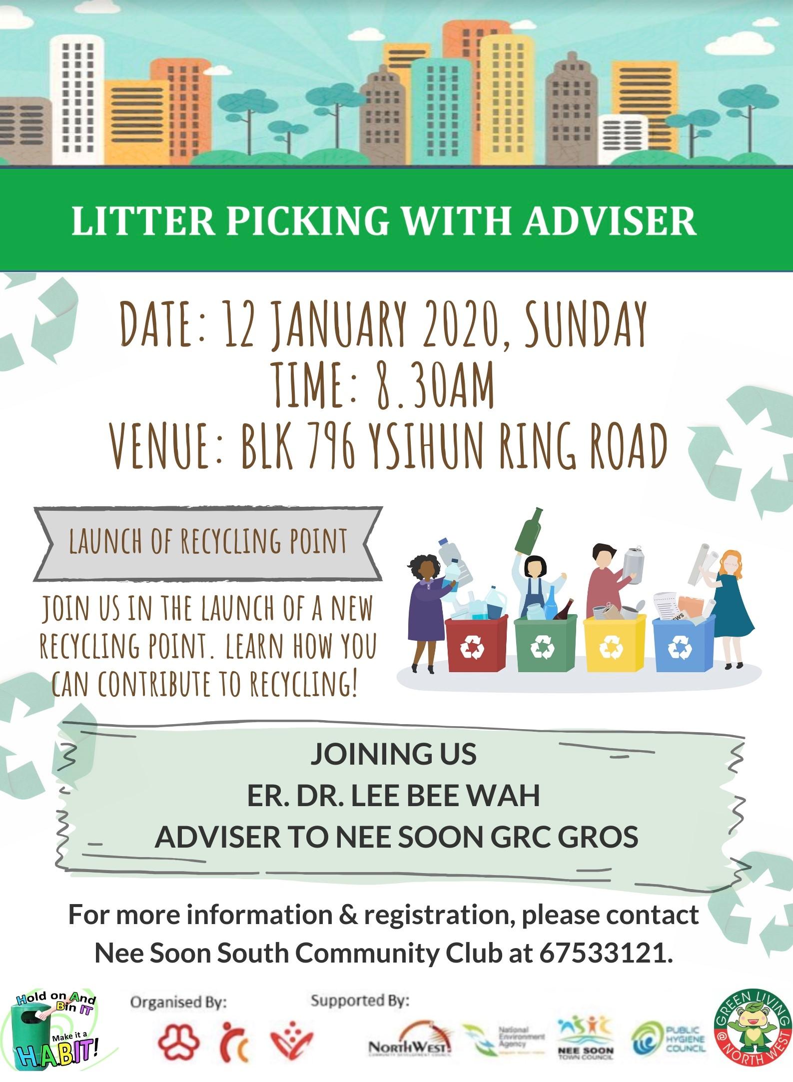 Litter Picking With Adviser