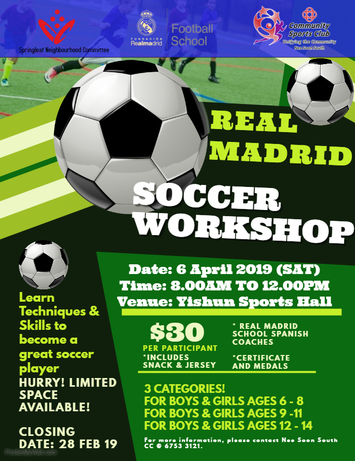 Real Madrid Soccer Workshop