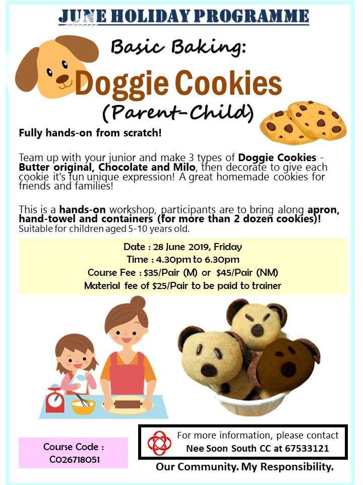 Basic Baking : Doggie Cookies
