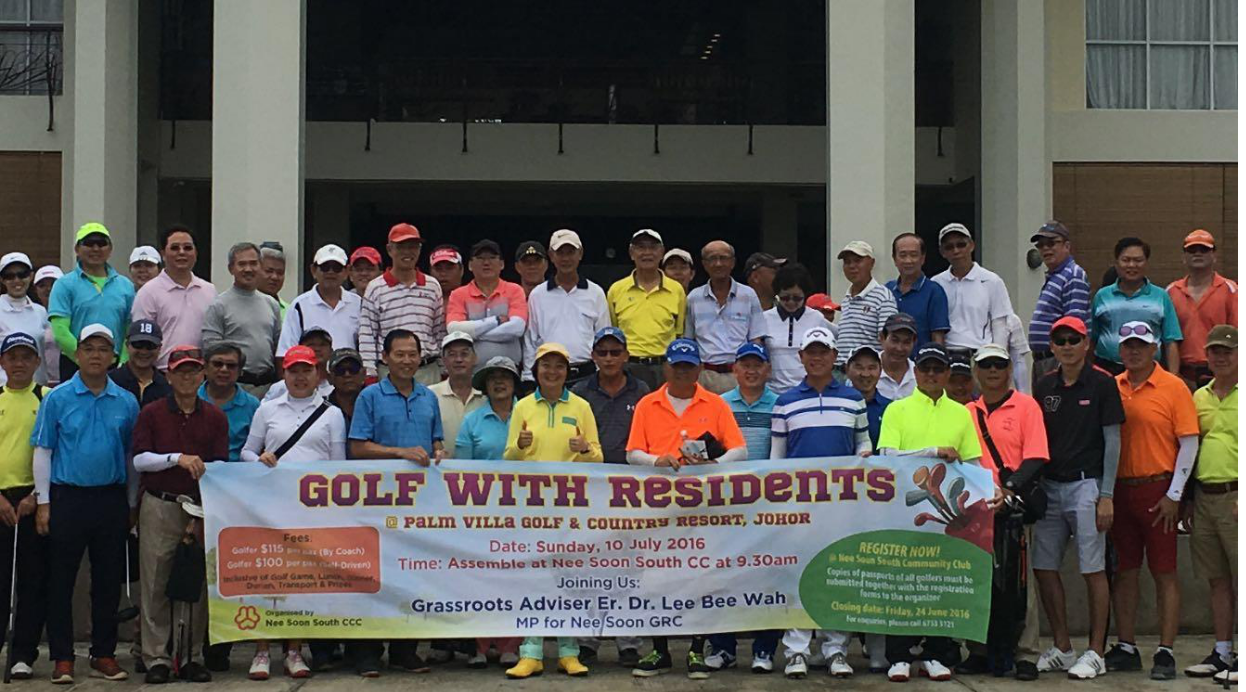 Golf with Residents 2016