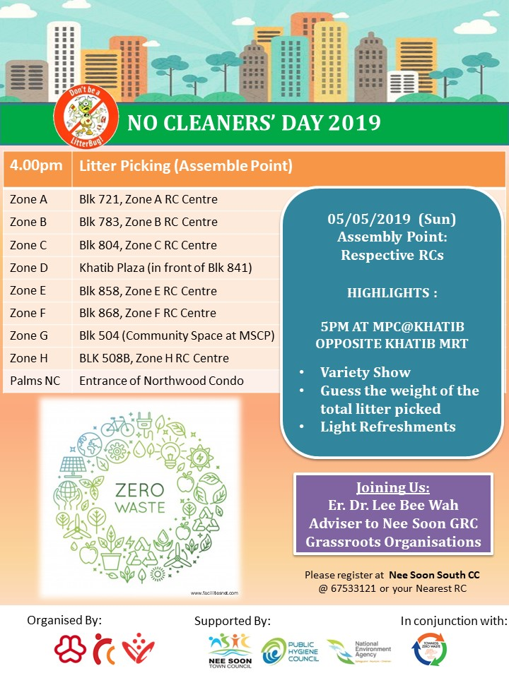 No Cleaners' Day 2019