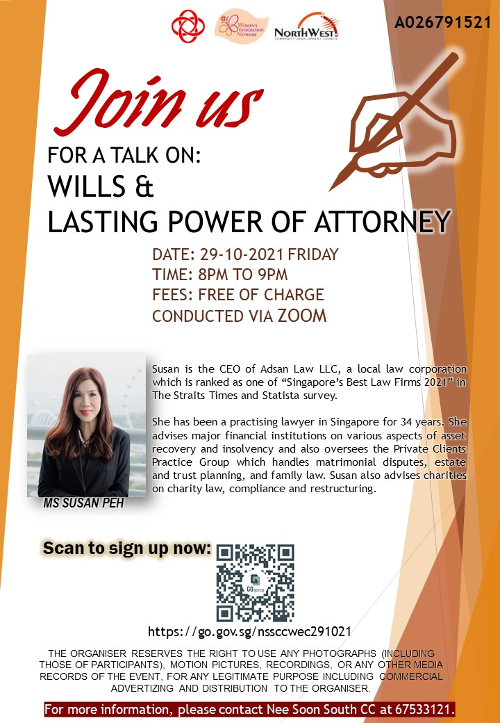 Wills & Lasting Power of Attorney