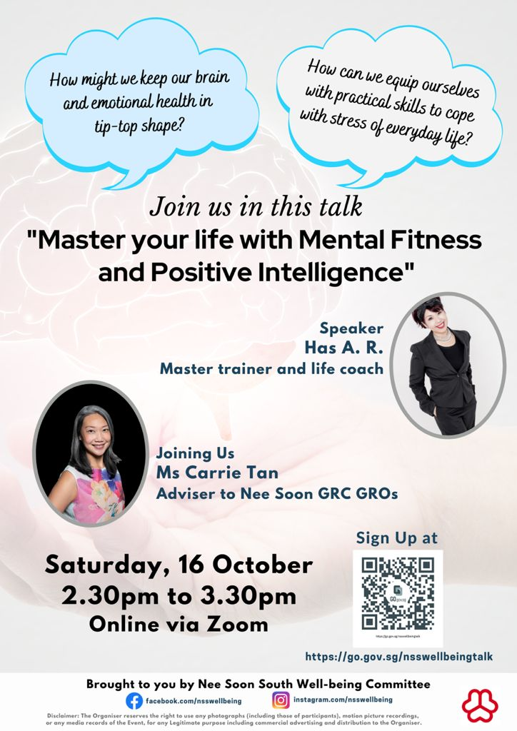 Master your life with Mental Fitness and Positive Intelligence